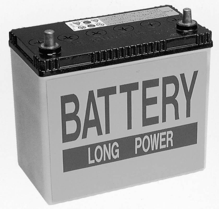 普通のバッテリー